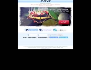 de.phixr.com screenshot