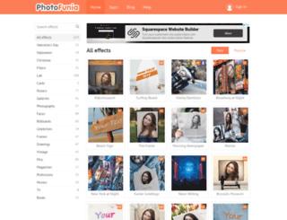 de.photofunia.com screenshot