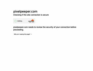 de.pixelpeeper.com screenshot