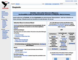 de.pluspedia.org screenshot