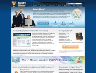 de.registrywinner.com screenshot