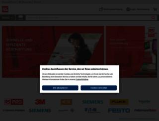 de.rs-online.com screenshot