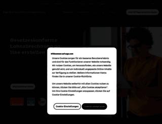 de.sageone.com screenshot