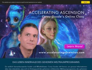 de.spherebeingalliance.com screenshot
