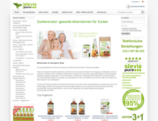 de.steviagroup.de screenshot