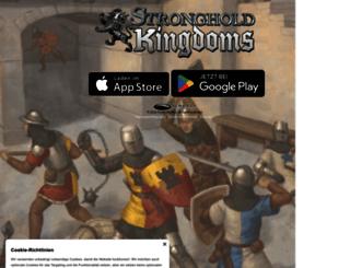 de.strongholdkingdoms.com screenshot