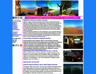 de.taghazout.biz screenshot