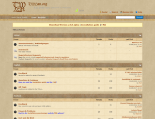 de.twlan.org screenshot