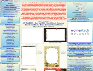 de.viptalisman.com screenshot