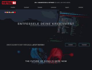 de.virtualdj.com screenshot