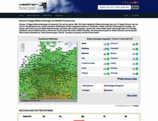 de.weather-forecast.com screenshot