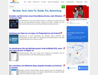 de.webtech360.com screenshot