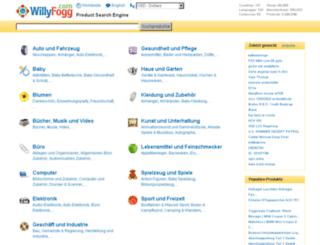 de.willyfogg.com screenshot