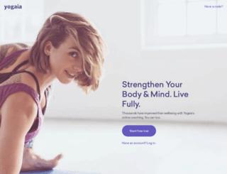 de.yoogaia.com screenshot