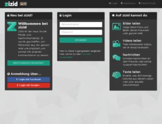 de.zizid.com screenshot