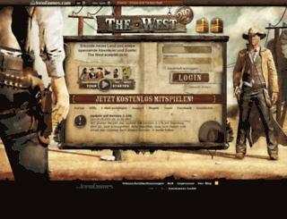 de13.the-west.de screenshot