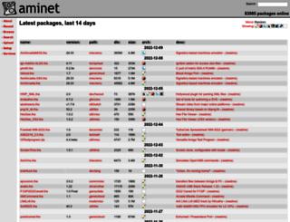 de3.aminet.net screenshot