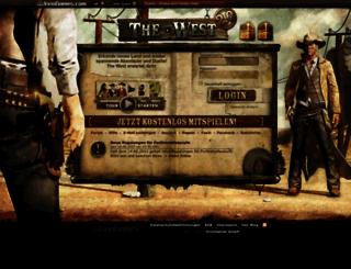 de6.the-west.de screenshot
