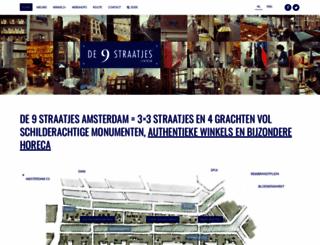 de9straatjes.nl screenshot
