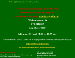 deaardbol.nl screenshot