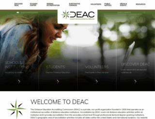 deac.org screenshot