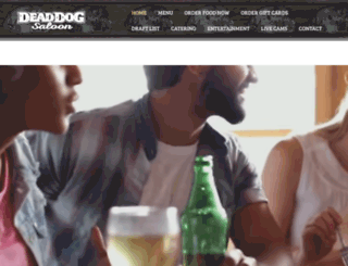 deaddogsaloon.com screenshot