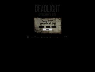 deadlightgame.com screenshot