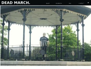 deadmarch.co.uk screenshot