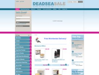 deadseasale.com screenshot