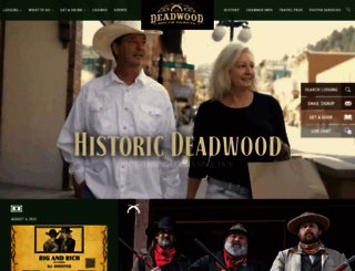deadwood.com screenshot