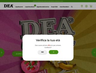 deaeliquid.com screenshot