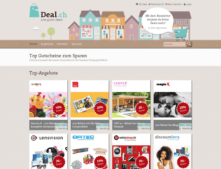 deal.ch screenshot