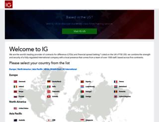 deal.ig.com screenshot