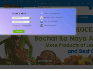 deal4grocery.com screenshot