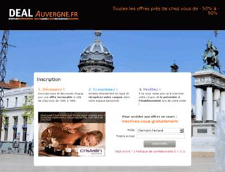 dealauvergne.fr screenshot