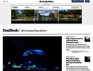 dealbook.blogs.nytimes.com screenshot
