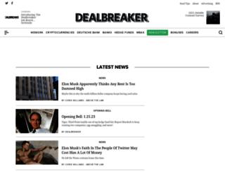 dealbreaker.com screenshot