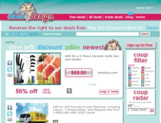 dealbydesign.com screenshot