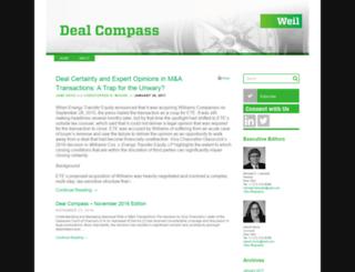 dealcompass.weil.com screenshot
