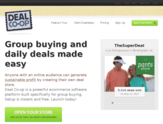dealcoop.com screenshot