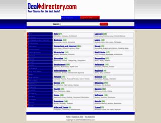 dealdirectory.com screenshot