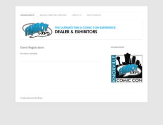 dealer.fanboyexpo.com screenshot
