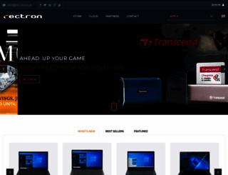 dealer.rectron.net screenshot