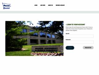 dealercove.mesconet.com screenshot