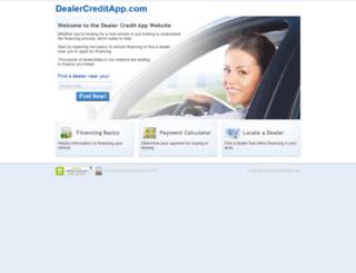 dealercreditapp.com screenshot
