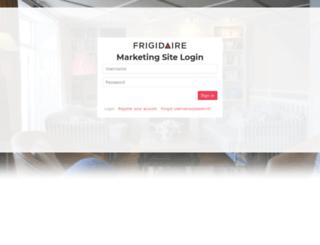 dealerextranet.frigidaire.net screenshot