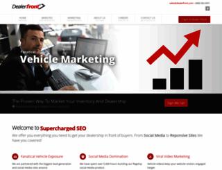 dealerfront.net screenshot