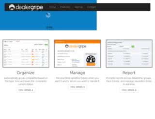 dealergripe.bigringdev2.com screenshot