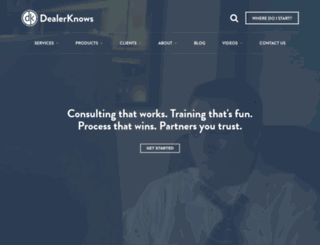 dealerknows.com screenshot