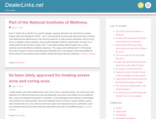 dealerlinks.net screenshot